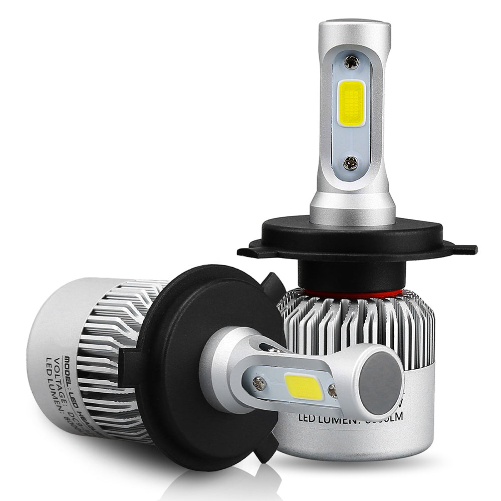 Led Headlight Bulb >> H4 H7 H11 H1 9005 9006 72w Cob Led Headlight Bulb Conversion Kit 8000lm