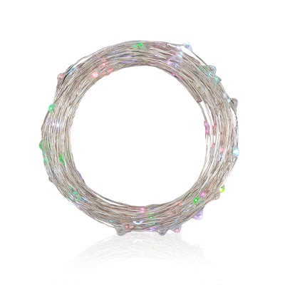 DC12V 10M 33ft 100LED LED String Fairy Light Copper Wire MultiColor RGB Decor Stripes - LED Factory Mart - 9