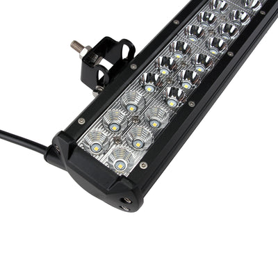 "USA ONLY 20"" 126W Spot Flood LED Work Light Bar Offroad 4WD Truck ATV SUV Jeep Lamp"