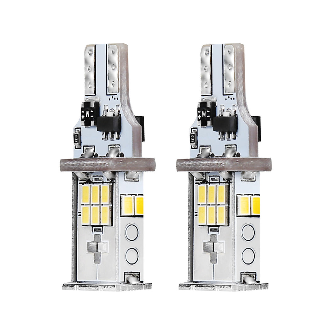 T15 18SMD Canbus Error Free LED Backup Reverse Lights Bulbs White