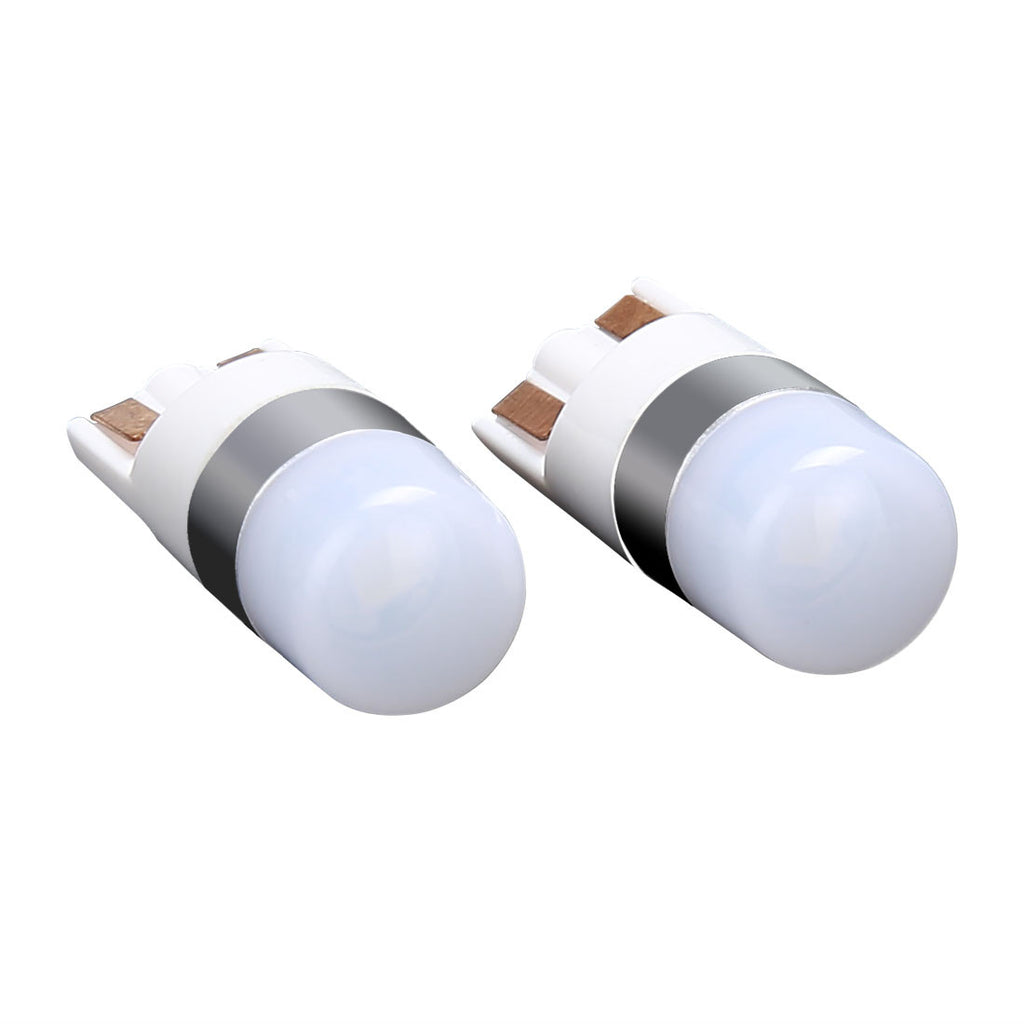 Bright White T10 LED Indicator Interior Light bulbs W5W 2825 158 192 194 6000K
