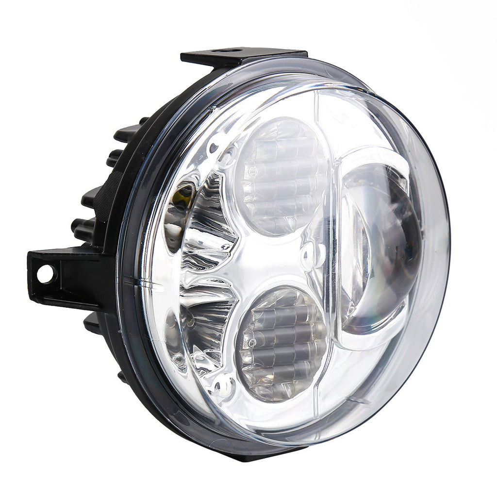 Pair 12-16 Kawasaki Brute Force 750 LED Headlights Conversion Kit - LED Factory Mart - 6
