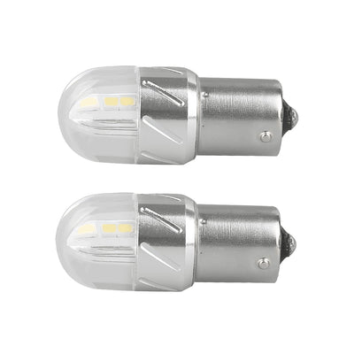 3030 6SMD 18W Car LED Turn Signal Light BA15S 1156 White Bulbs