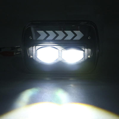 Jeep 5X7 LED Headlights