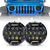"Honey Comb 7"" 75W Cree LED Headlight DRL Hi/Lo Beam For 1997+ Jeep Wrangler"