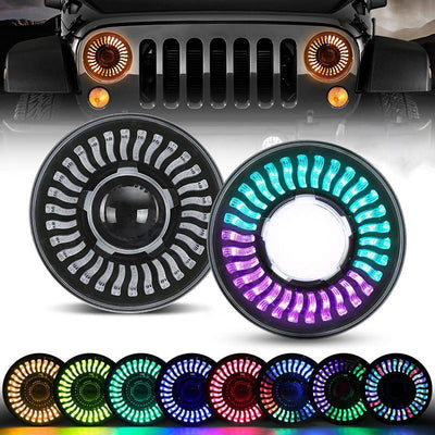 Jeep Color Changing Headlights