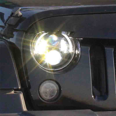 Jeep Halo Headlights