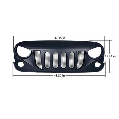 Jeep JK Grille with Mesh