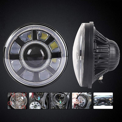 Jeep Wrangler JL LED Headlights