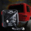 Jeep JL LED Taillights With Red Lens