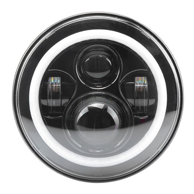 Jeep LED Halo Headlights