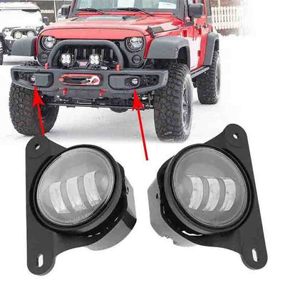 Jeep Tenth Anniversary Edition jk fog lights