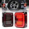 Jeep Wrangler Clear JK Tail Lights