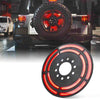 Jeep Wrangler Spare Tire LED Brake Light