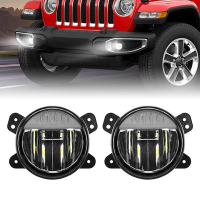 Jeep jl cross halo headlights and fog lights
