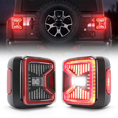 Linear Series Jeep Wrangler JL LED Tail Lights