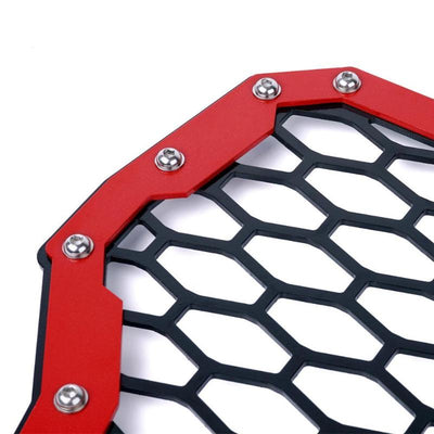 Red Front Grille Insert For 2017 Polaris RZR Turbo Models