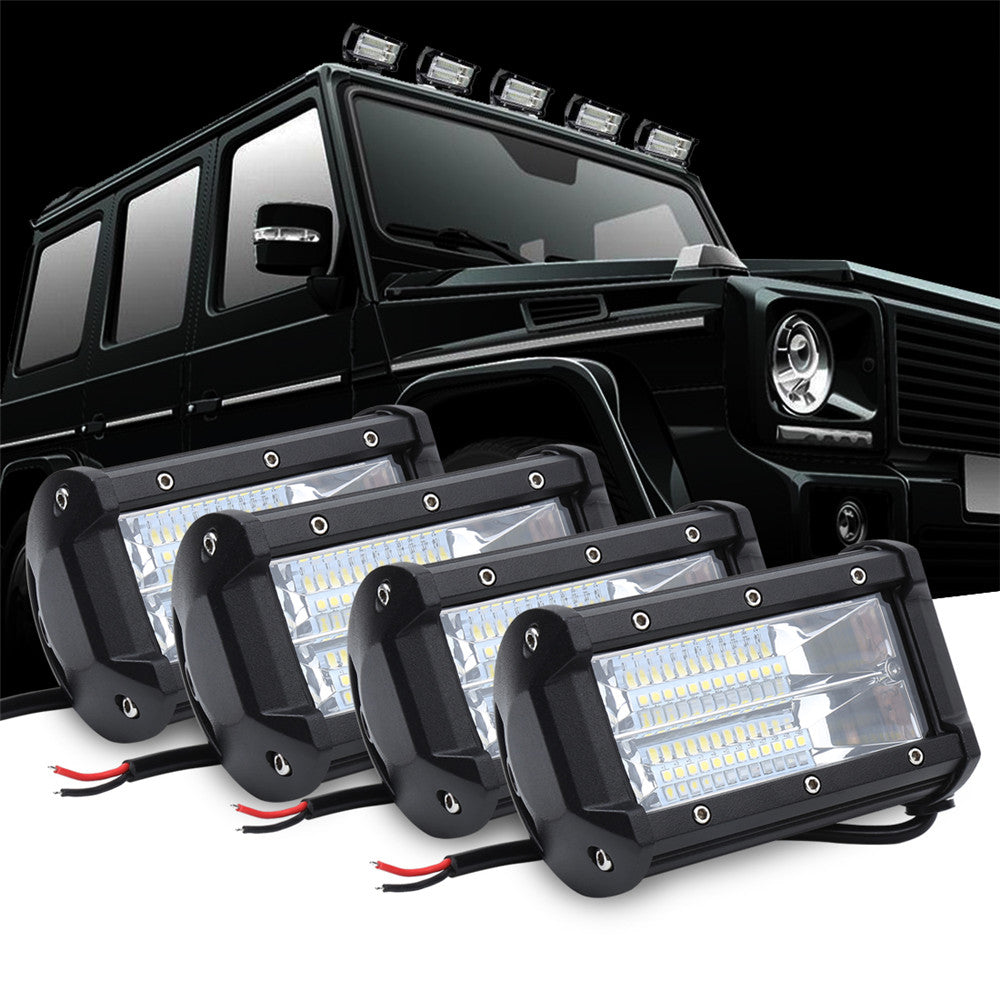 72w led light bar osram flood beam driving lights off road led cubes 72w led light bar osram flood beam driving lights off road led cubes work light bar aloadofball Images