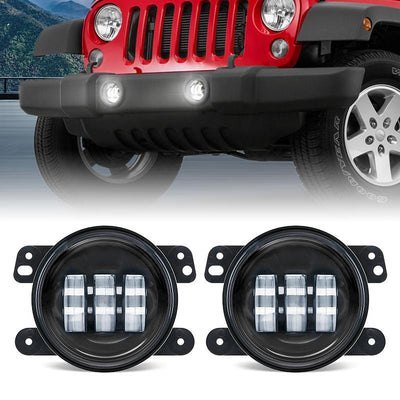 "7"" 75W Headlights with 4"" 30W Fog Lights"