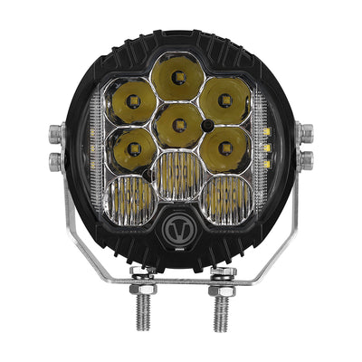 CREE 5 Inch 30W LED Driving Dual Side Light With Amber Back Light