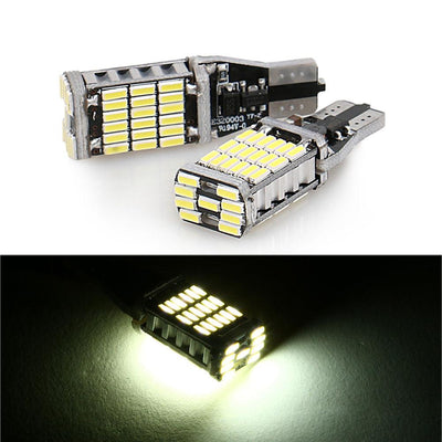 Dual Lens LED Lights Bulb Auto LED Lighting & T10 194 45SMD 4014 LED Bulbs