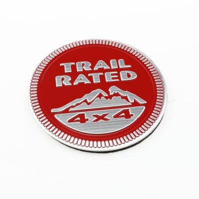 Trail Rated Metal Emblem For Jeep Wrangler