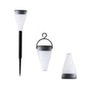 RGB 7 Color Garden Path Lawn LED Outdoor Solar Landscape Lighting