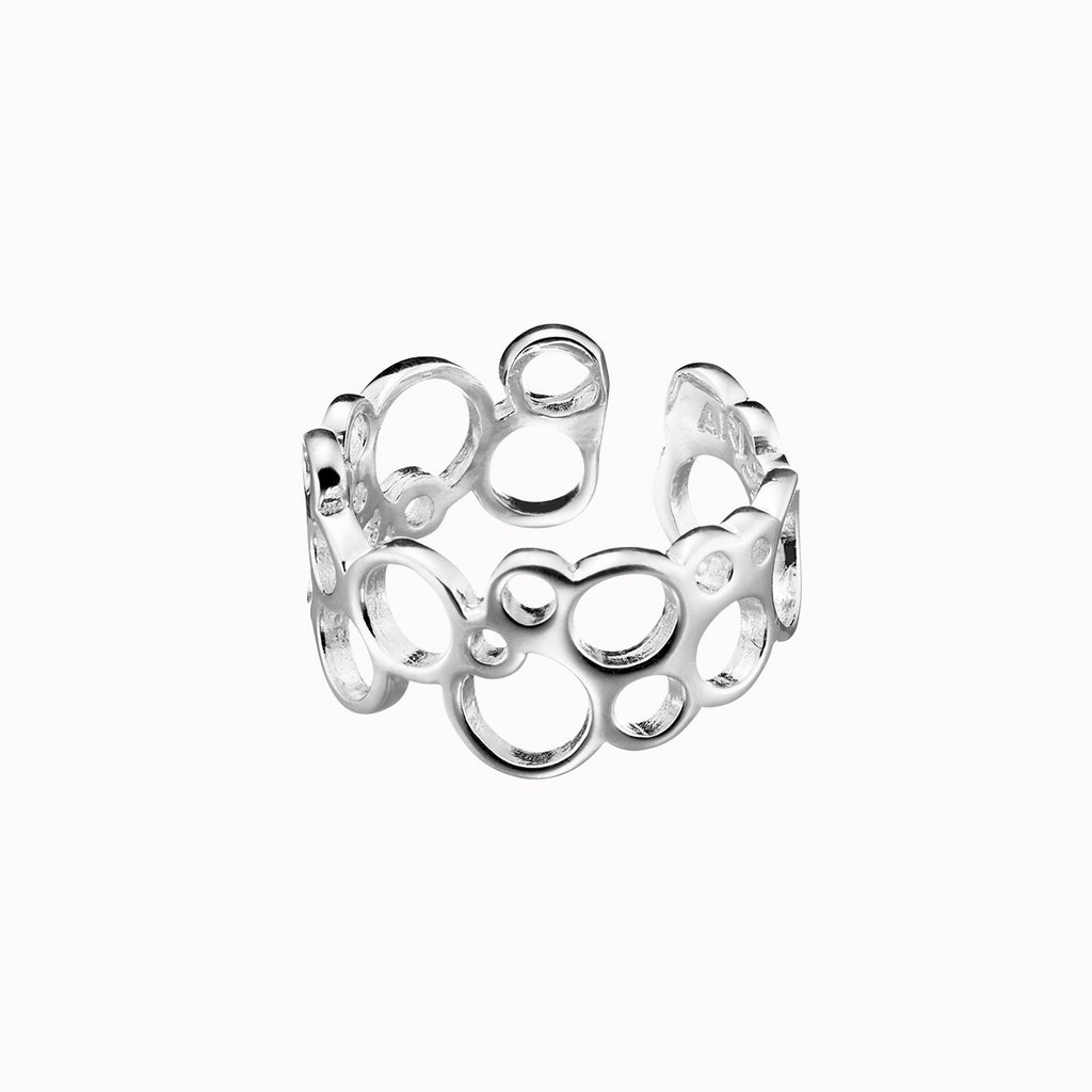 Aisti Bubbles knuckle ring