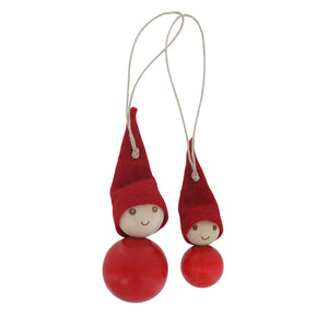 Elf tree decoration set