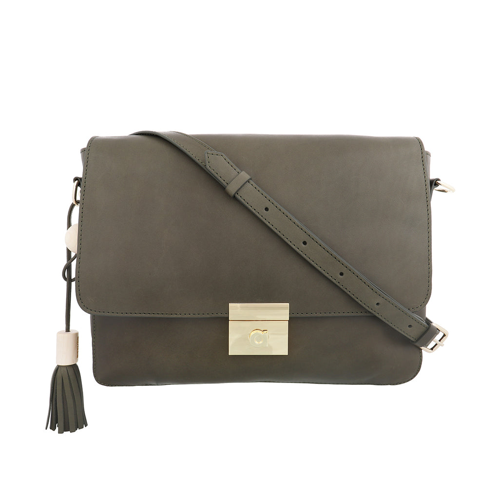Helle shoulder bag olive