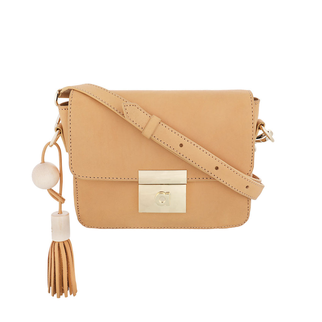 Helmi cross body bag cream