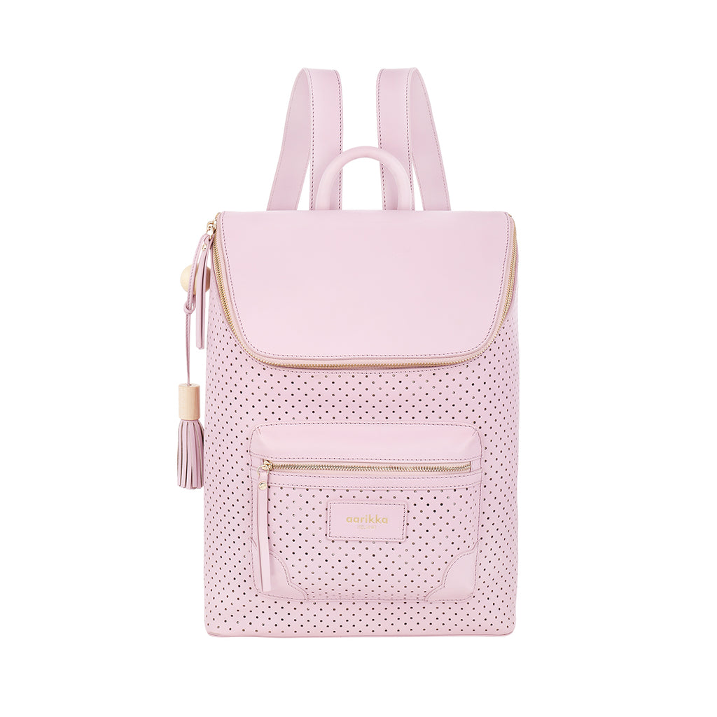 Heta scallop backpack lilac