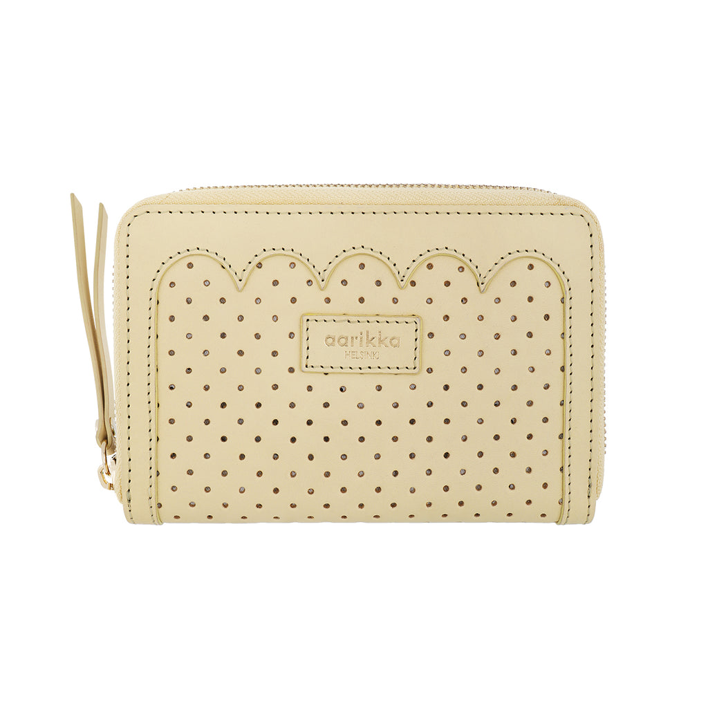 Oona scallop wallet buttercup