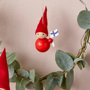 Elf Suomi tree decoration