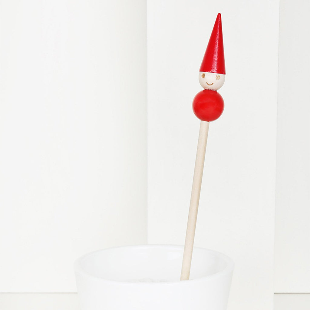 Tonttu elf decoration stick