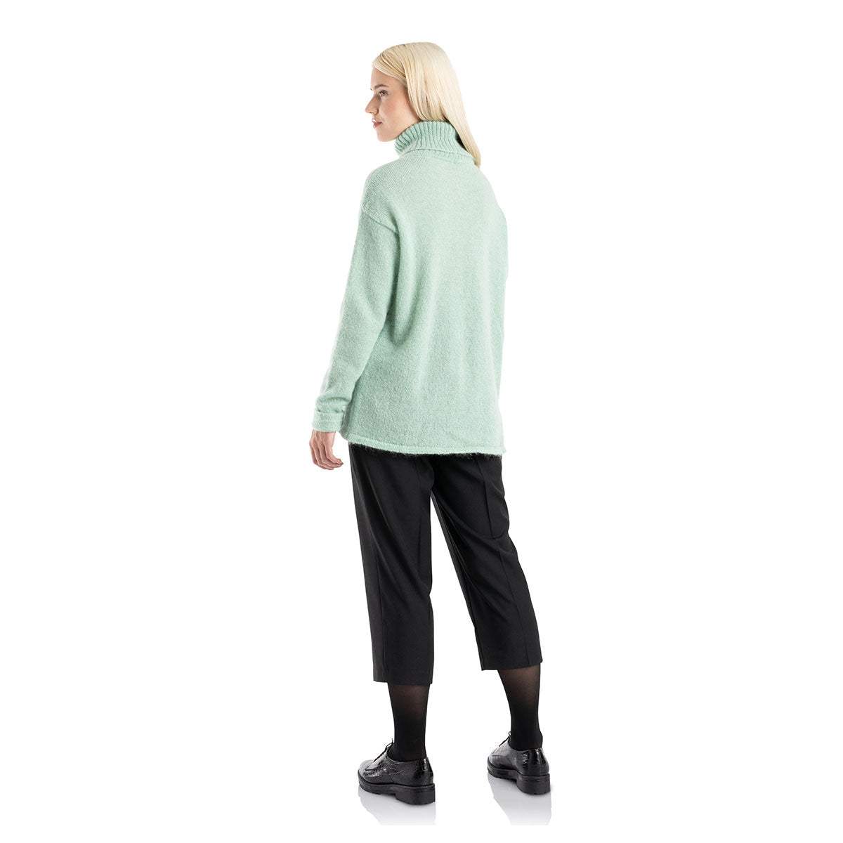 Annika sweater mint green