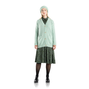 Aurora cardigan mint green