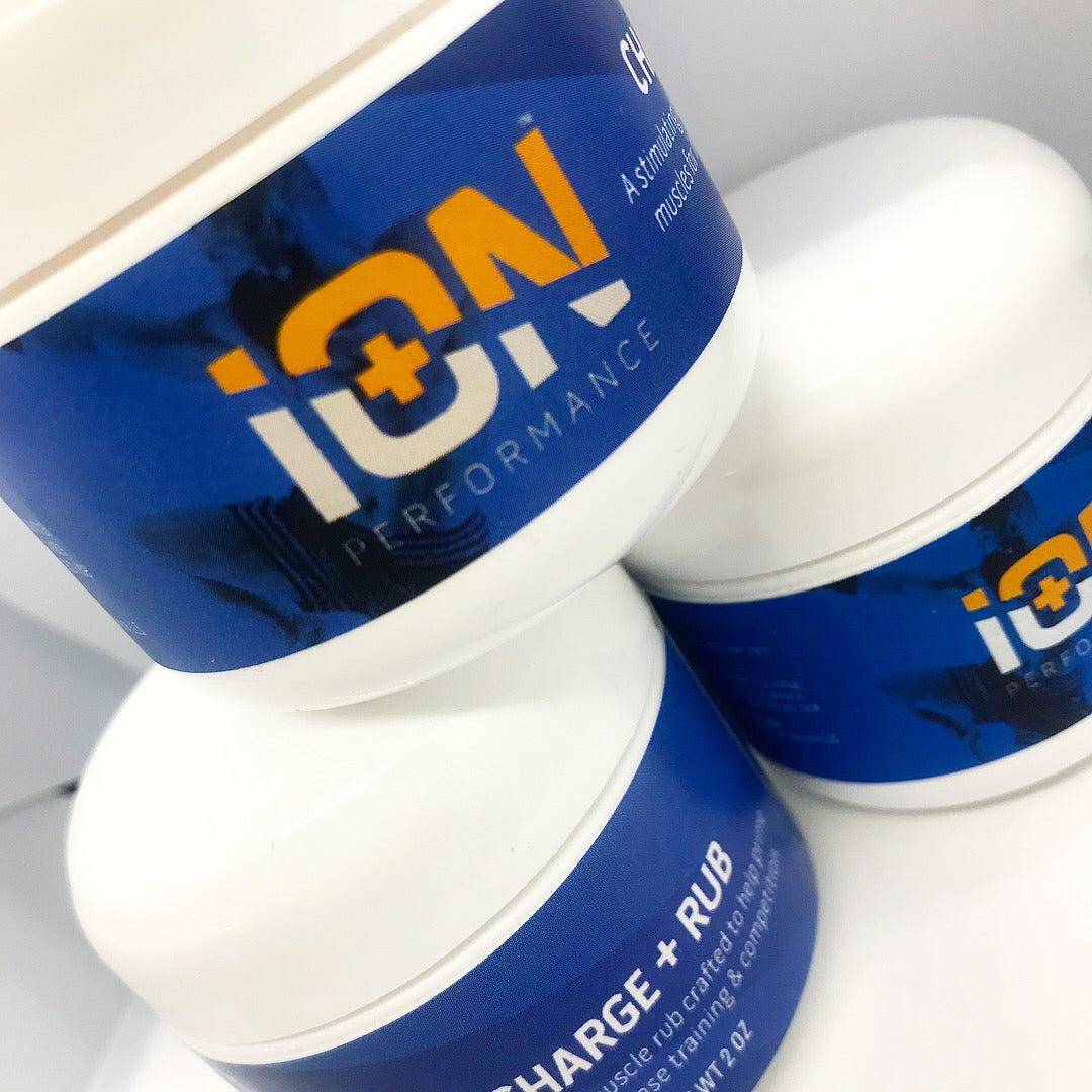 iON CHARGE Warmup Rub 3 Pack