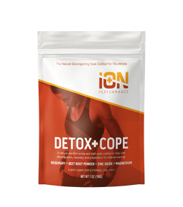 iON Performance Detox + Cope Travel Pouches 6 Pack