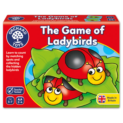 Orchard Toys Game of Ladybirds - educationaltoys.ie