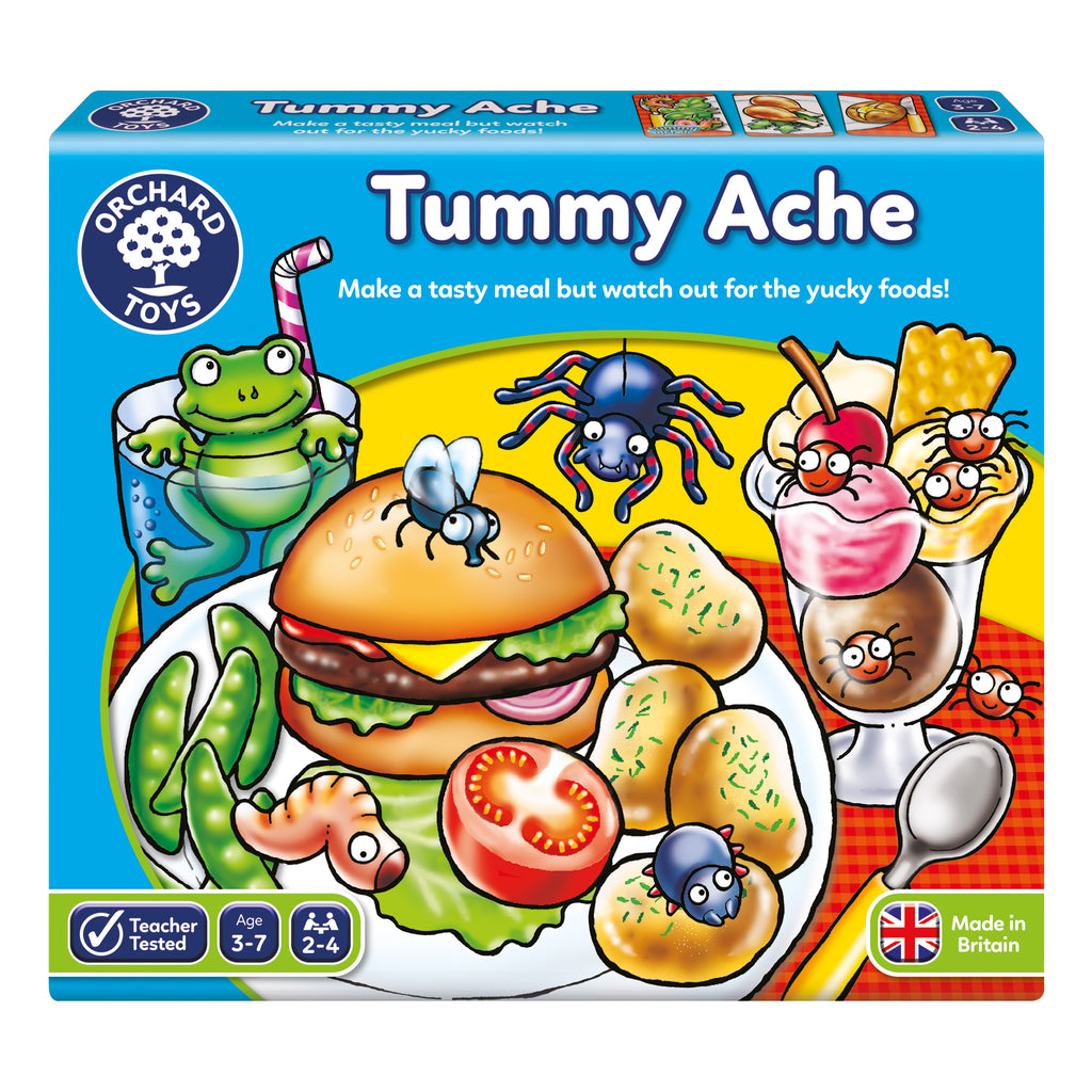 Orchard Toys Tummy Ache - educationaltoys.ie