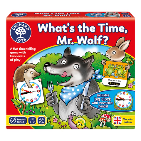 Orchard Toys What's The Time Mr Wolf - Educationaltoys.ie