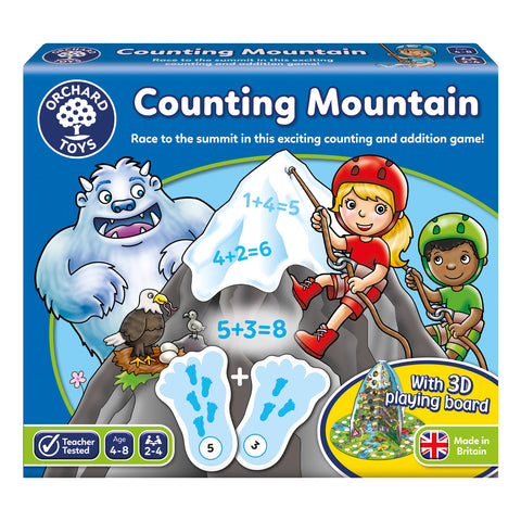 Orchard Toys Counting Mountain game - educationaltoys.ie