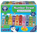 Orchard Toys Number Street Jigsaw Puzzle - educationaltoys.ie