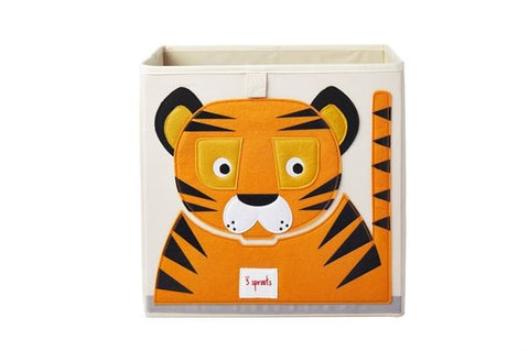 3 Sprouts Storage Box Tiger - educationaltoys.ie