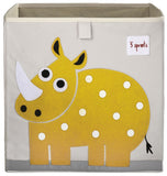 3 Sprouts Storage Box Rhino Yellow - educationaltoys.ie
