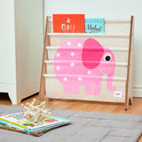3 Sprouts Book Rack Elephant Pink - educationaltoys.ie