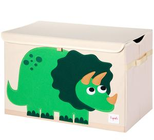 3 Sprouts Toy Chest Dino Green - educationaltoys.ie