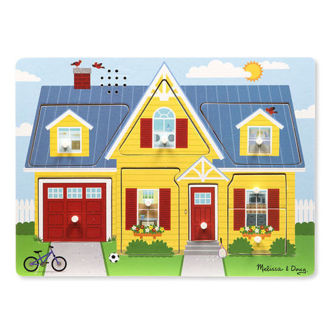 Melissa & Doug Around The House Sound Puzzle - educationaltoys.ie