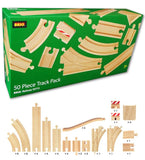 50 Piece Track Pack Brio 33772 - educationaltoys.ie